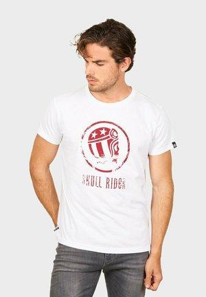 OLD SKULL - T-shirt print - white