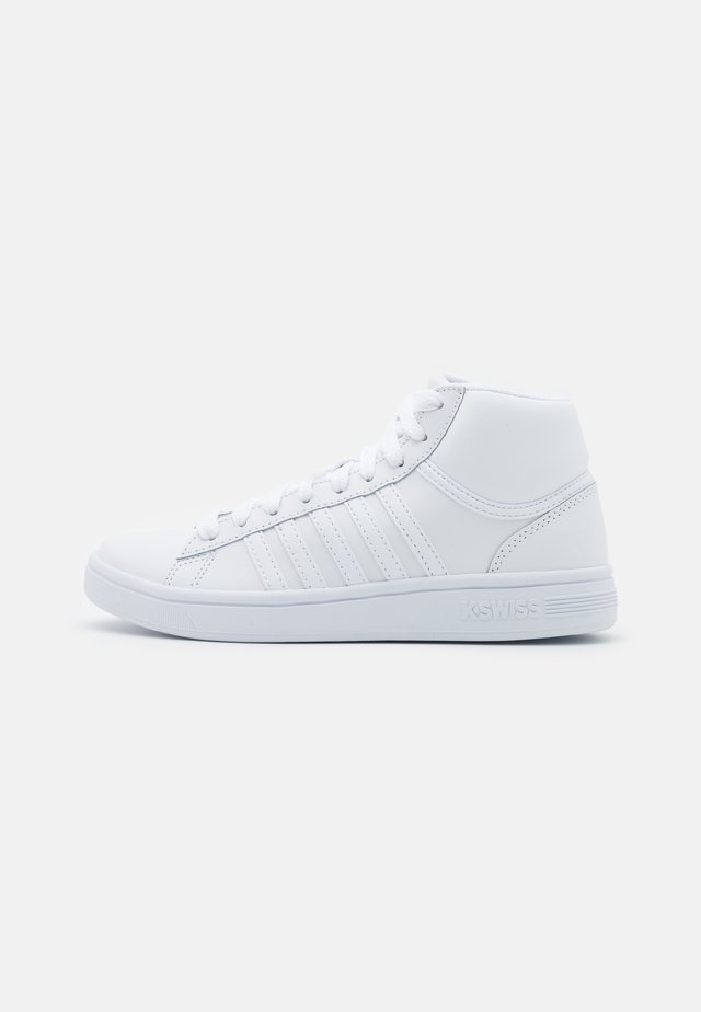 COURT WINSTON MID - Sneakers hoog - white