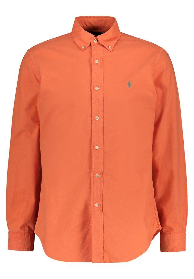 POLO RALPH LAUREN HERREN HEMD CUSTOM FIT LANGARM - Shirt - orange (33)