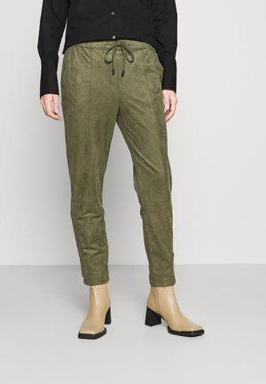 JOGGER PULL - Trousers - dark khaki