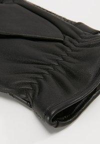 Barbour - NEWBROUGH TARTAN GLOVE - Gloves - black - 3