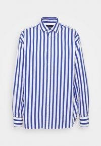 Polo Ralph Lauren - LONG SLEEVE - Button-down blouse - white/medium blue - 4