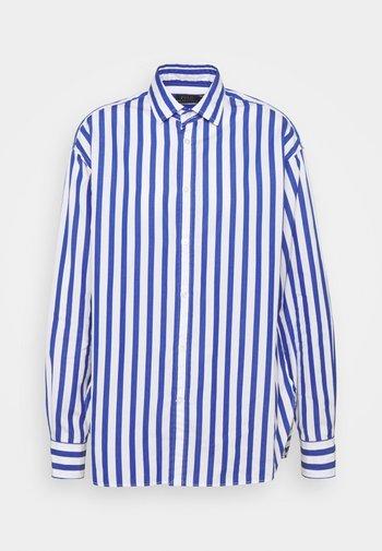 LONG SLEEVE - Skjorte - white/medium blue