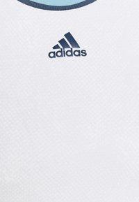 adidas Performance - MATCH TANK  - Top - white/crenav - 2