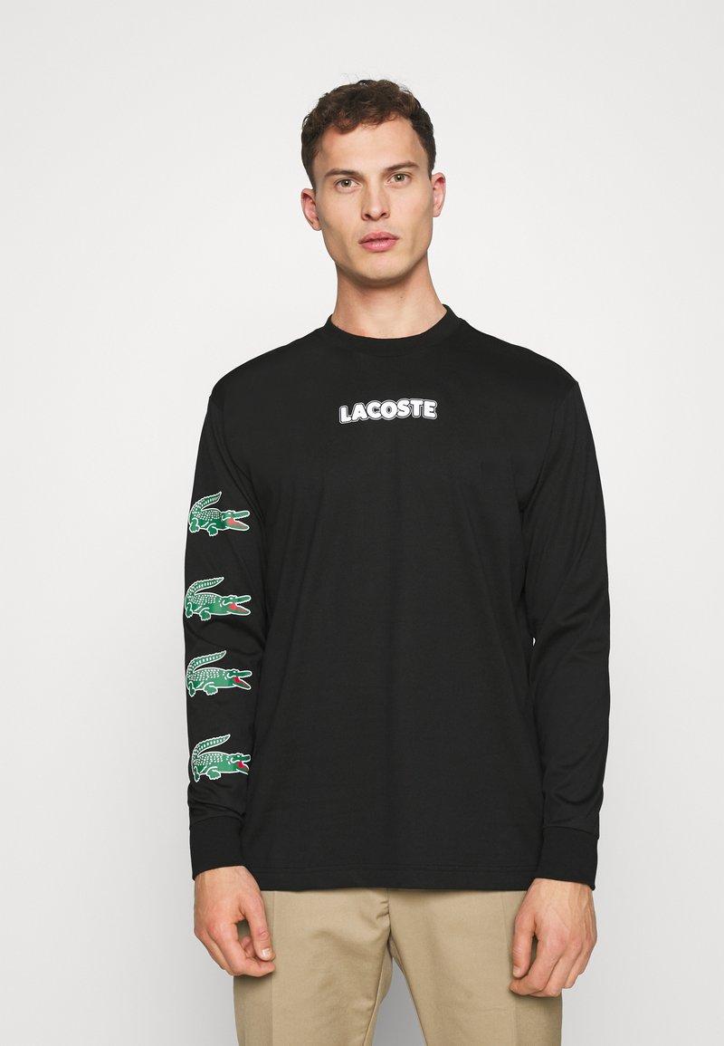 Lacoste - Bluzka z długim rękawem - noir