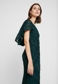 Adrianna Papell - SOUTACHE CAPE GOWN - Occasion wear - dusty emerald - 5