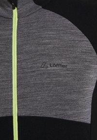 LÖFFLER - BIKE PACE - Funktionsshirt - grey melange - 3