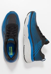 Skechers Performance - MAX CUSHIONING ELITE - Chaussures de running neutres - black/blue - 1