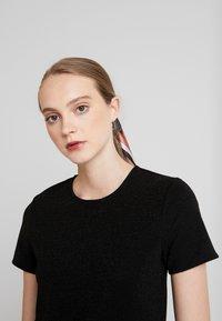 JDY - Print T-shirt - black/black - 3