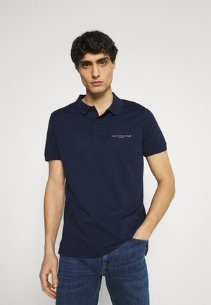 CLEAN SLIM - Polo shirt - yale navy