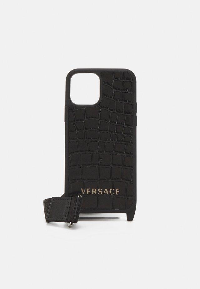 PHONE CASE UNISEX - Portacellulare - nero/oro