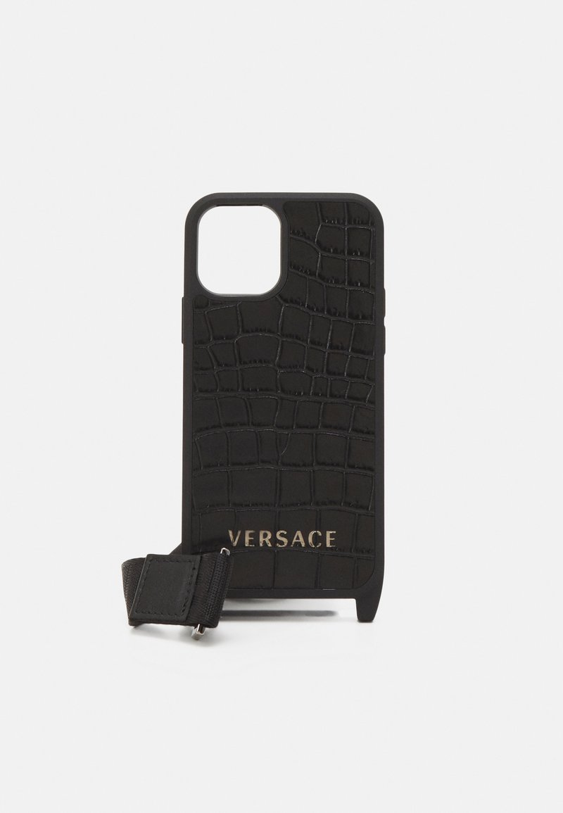 Versace - PHONE CASE UNISEX - Phone case - nero/oro