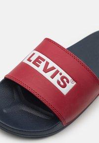 Levi's® - JUNE - Matalakantaiset pistokkaat - navy blue - 5