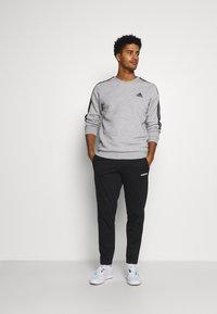 adidas Performance - CUT - Felpa - medium grey heather/black - 1