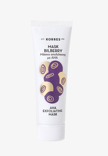 BILBERRY PEELING MASK WITH ENZYMES AND AHA - Face mask - -