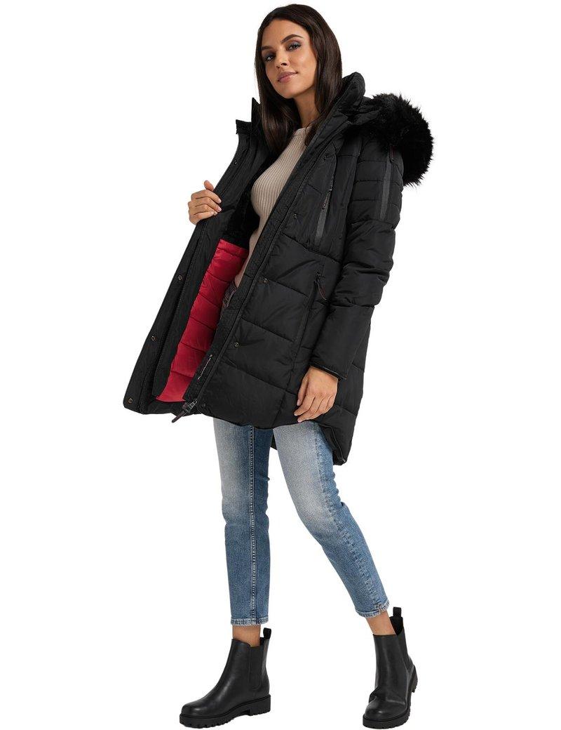 Marikoo - MOONSHINE - Winter coat - black
