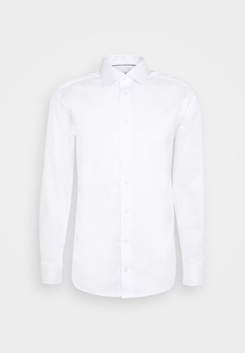 SOLID STRETCH - Formal shirt - white