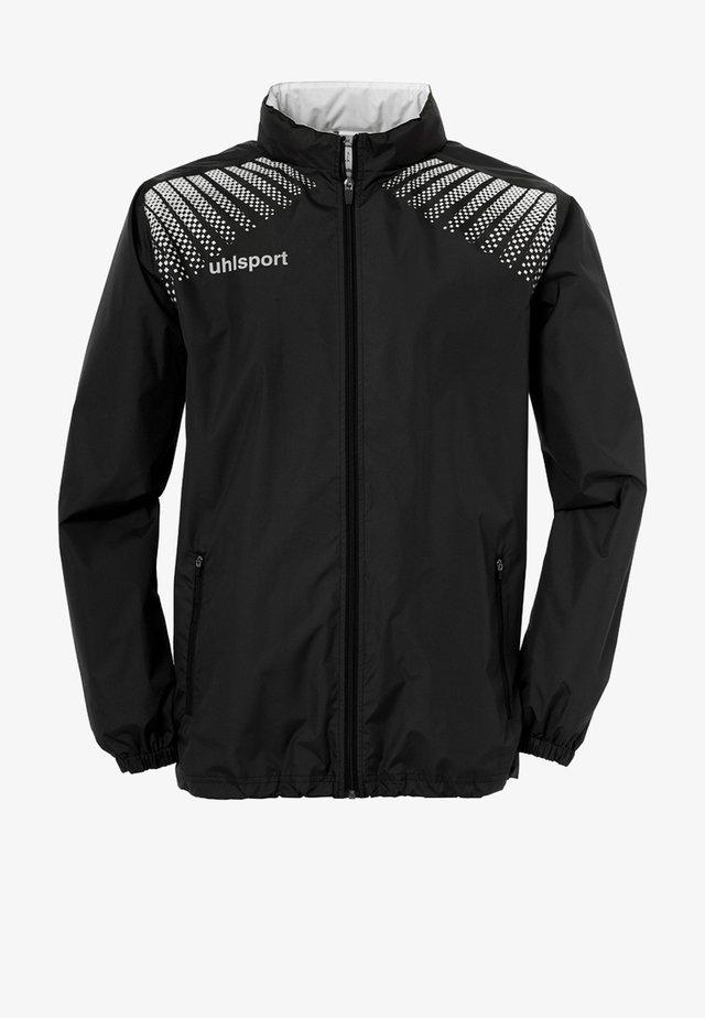 Waterproof jacket - schwarz / weiß