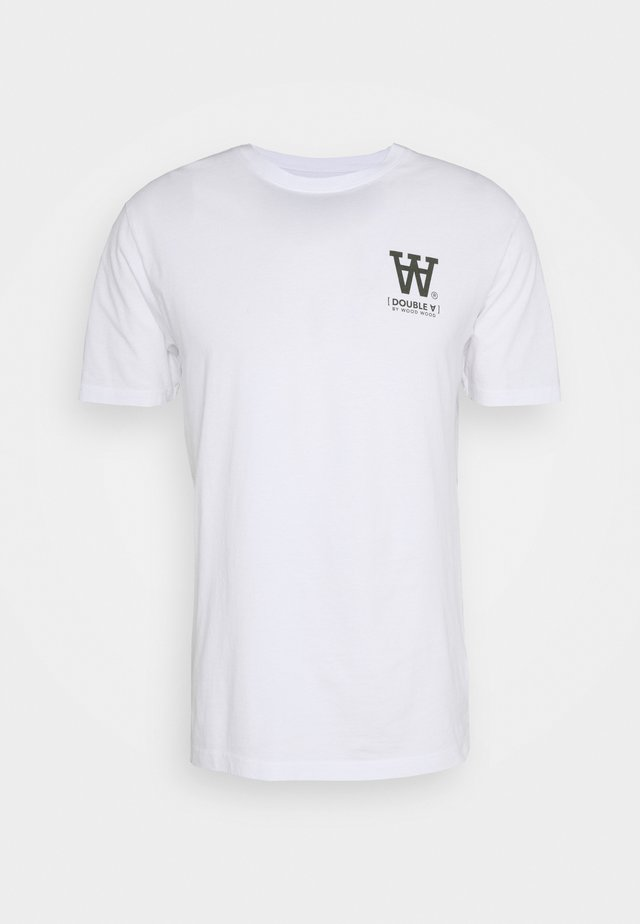 ACE - T-shirt con stampa - bright white