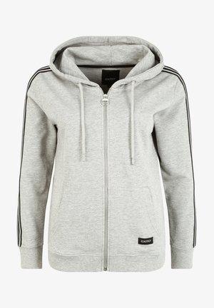 GABBY - Zip-up sweatshirt - grey melange