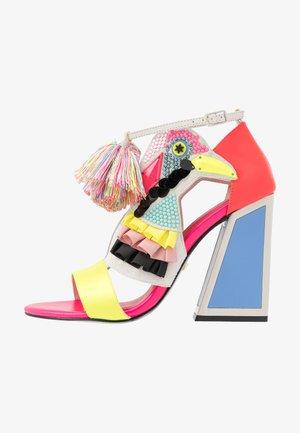 AYA - High heeled sandals - colour pop