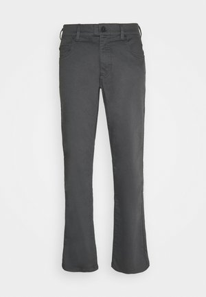 STRETCH FONT PANTS - Trousers - anthracite