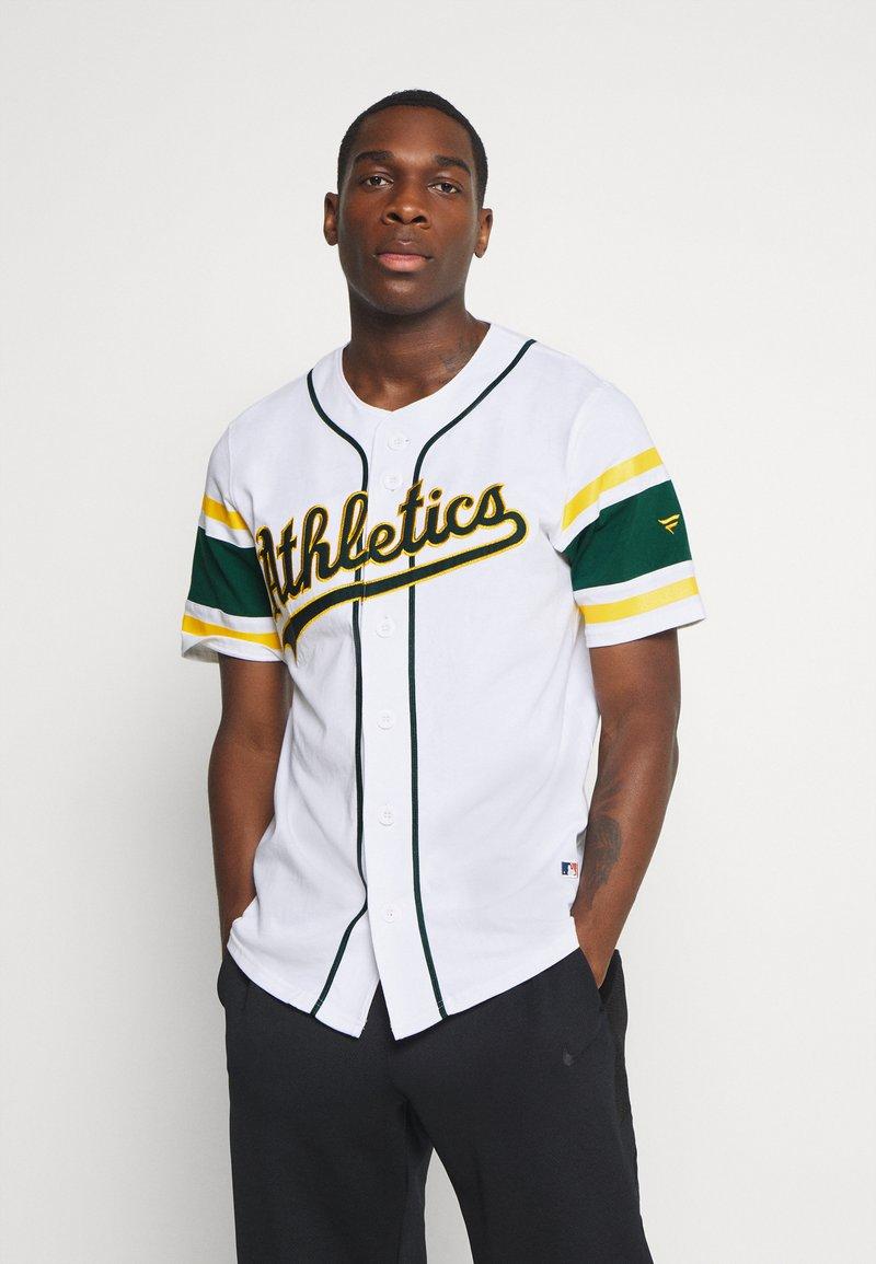 Fanatics - MLB OAKLAND ATHLETICS ICONIC FRANCHISE SUPPORTERS - Club wear - white