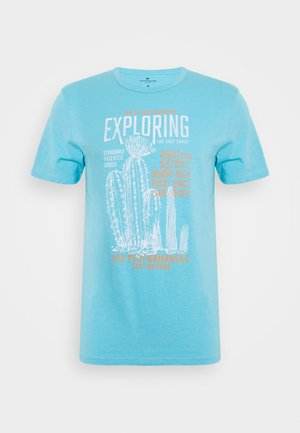 T-shirt imprimé - crystal sea blue