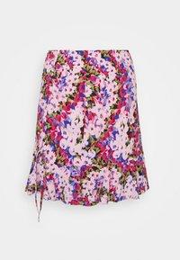 RUCHED 80S SKRT - A-line skirt - pink