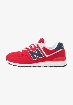 Trainers - red/navy