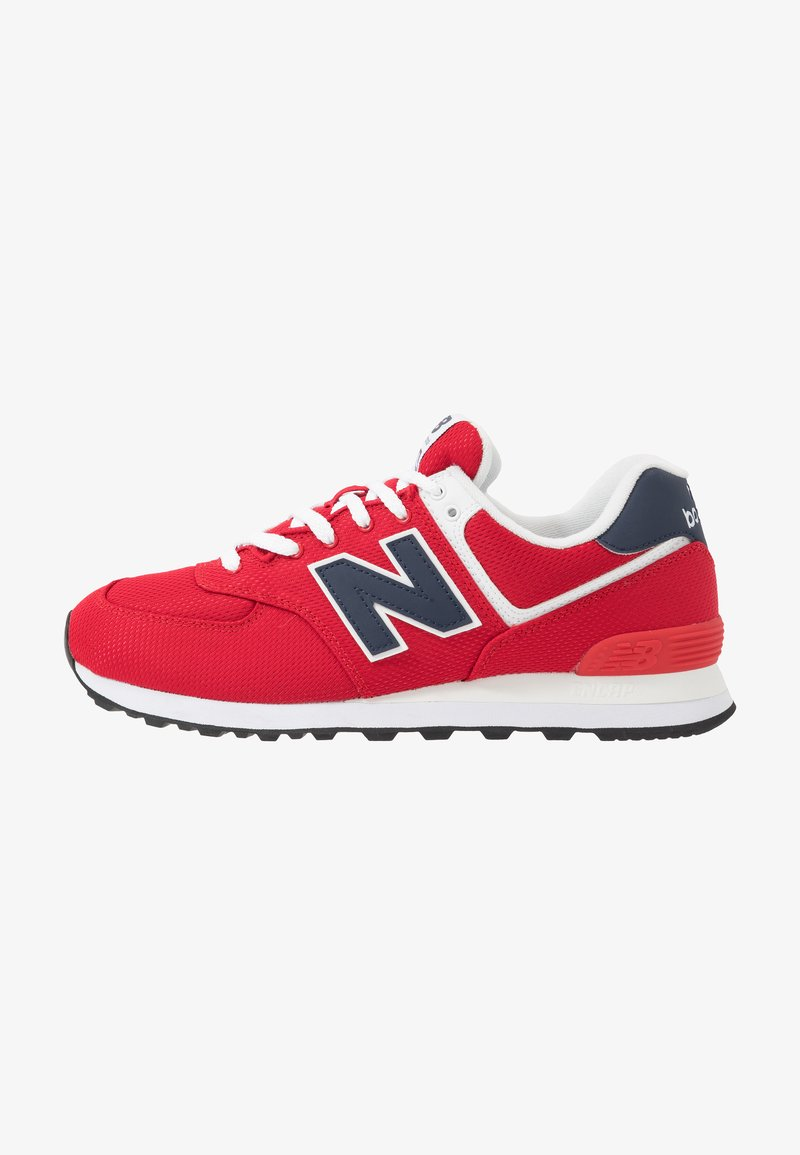 New Balance - Trainers - red/navy