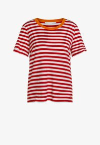 Oui - Print T-shirt - white red - 5