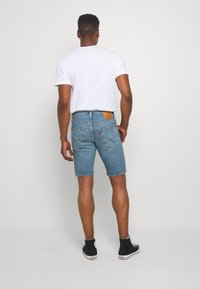 Levi's® - SLIM SHORT - Shorts di jeans - blue denim - 2