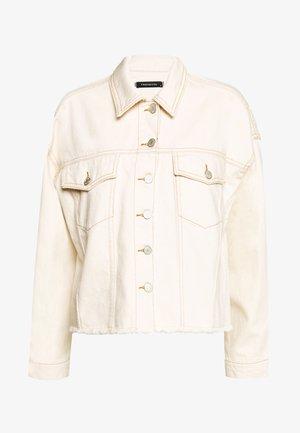 Denim jacket - ecru