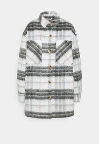 Pieces - PCAMALIA LONG SHACKET - Winter jacket - cloud dancer - 0