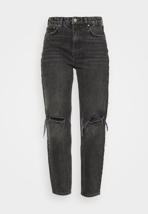 VINTAGE HIGH WAIST - Relaxed fit jeans - offblack