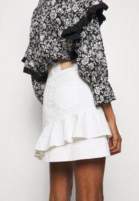See by Chloé - Denimová sukně - confident white - 5