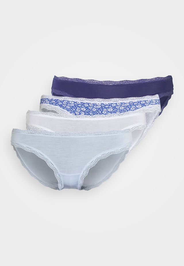 FLOWER KNICKER 4 PACK - Briefs - mixed colours