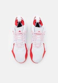 adidas Performance - D ROSE 773 2020 - Basketball shoes - footwear white/silver metallic/vivid red - 3