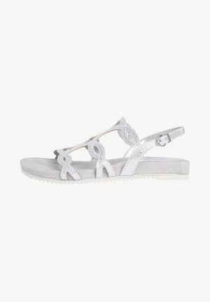 TAMARIS SANDALE - Sandals - silver