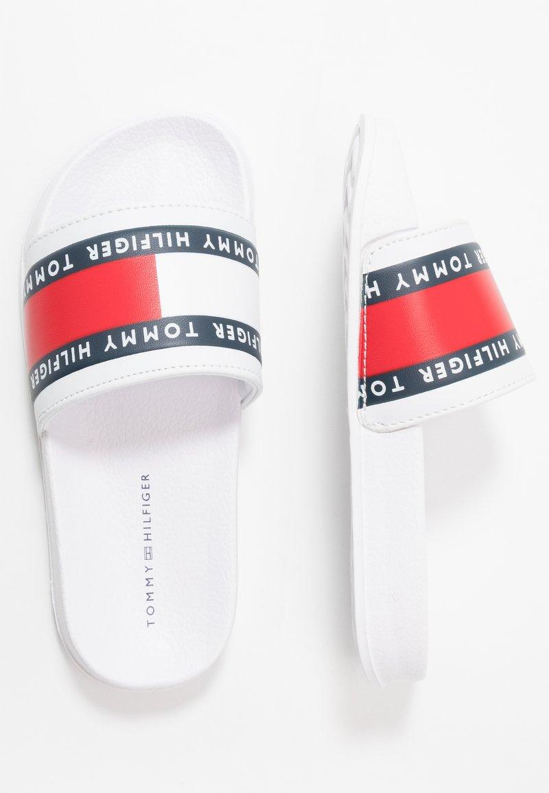 Tommy Hilfiger - Sandalias planas - white