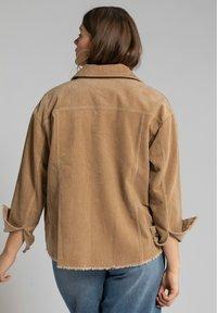 Studio Untold - Summer jacket - hellbraun - 1
