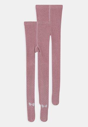 CHILDREN SOFT 2 PACK UNISEX - Sukkahousut - chalk pink melange