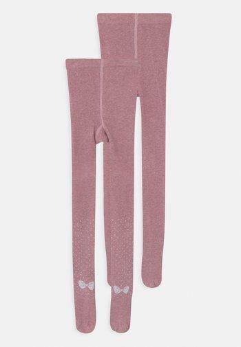 CHILDREN SOFT 2 PACK UNISEX - Tights - chalk pink melange