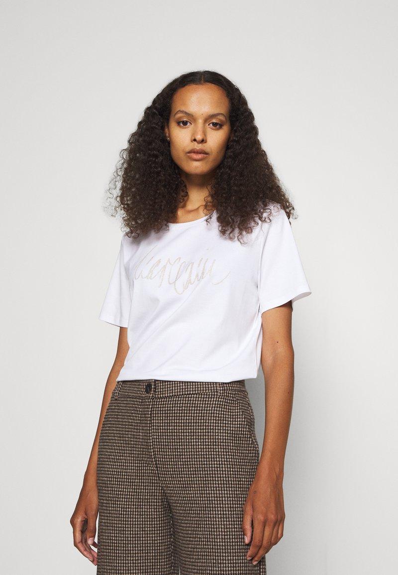 Marc Cain - Print T-shirt - white