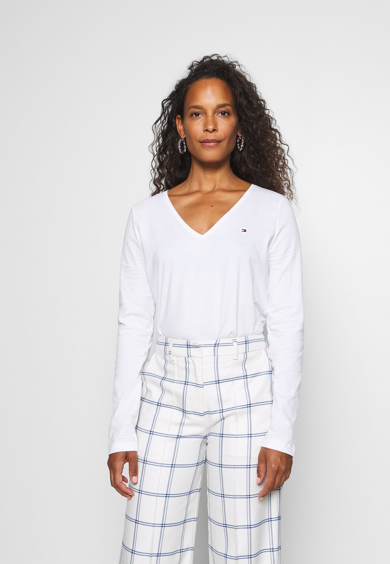 Tommy Hilfiger - CLASSIC - Long sleeved top - white