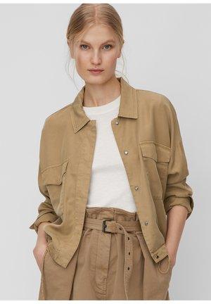 Summer jacket - shaded walnut