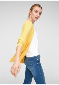 QS by s.Oliver - Cardigan - yellow melange - 3