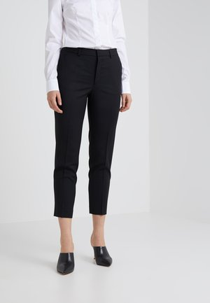 EMMA CROPPED COOL TROUSER - Bukser - black