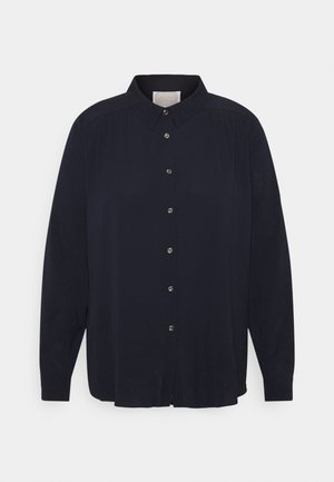 BERENICE - Button-down blouse - blu marino